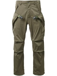 Meanswhile Cargo Trousers Green
