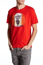 Lucky Brand Old Night Moves Short Sleeve Tee Red