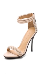 L.A.M.B. Kanye Haircalf Sandals Vanilla Rose Nude