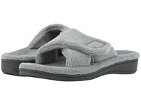 Vionic Relax Light Grey Slippers Gray