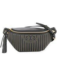 Tory Burch Fleming Studded Belt Bag Black