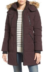 Guess Women's 'Expedition' Quilted Parka With Faux Fur Trim
