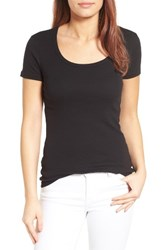 Caslonr Women's Caslon Short Sleeve Scoop Neck Tee