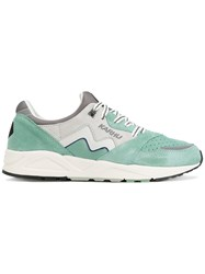 Karhu Aria Sneakers Leather Suede Polyester Rubber Green