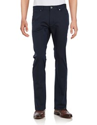 Calvin Klein Five Pocket Micropattern Pants Astoria Blue