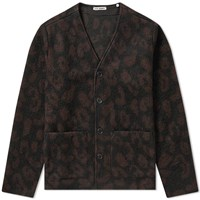 Our Legacy Leopard Cardigan Brown