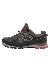 Jack Wolfskin Trail Excite Texapore Low Trail Running Shoes Rosebud Dark Grey