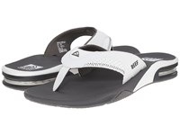 Reef Fanning Grey White Men's Sandals Gray