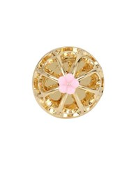 Betsey Johnson Birdcage Ring Gold