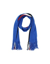 Beverly Hills Polo Club Oblong Scarves Blue
