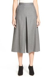 Nordstrom Flannel Culottes Gray