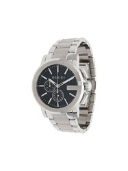 Gucci Metallic G Chrono Stainless Steel Watch Silver