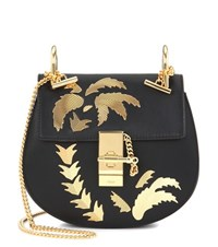 Chloe Mini Drew Shoulder Bag Black