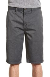 Men's Element 'Howland' Stretch Cotton Twill Shorts Charcoal Heather