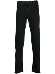 7 For All Mankind Slimmy Tapered Jeans Black