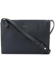 Paul Smith Zip Crossbody Bag Blue