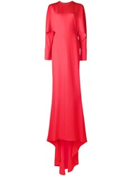 Stella Mccartney Long Evening Gown Red