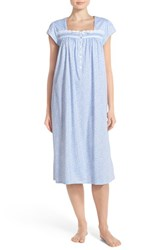 Women's Eileen West Cap Sleeve Cotton Ballet Nightgown