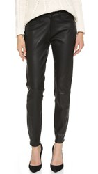 Dl1961 Azalea Realxed Skinny Leather Pants Ozone