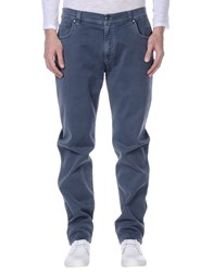 Nicwave Trousers Casual Trousers Men Slate Blue