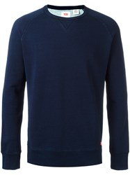 Levi's Crew Neck Jumper Blue