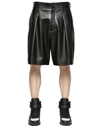 Givenchy Nappa Leather Shorts