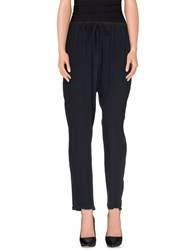 Woolrich Trousers Casual Trousers Women Dark Blue
