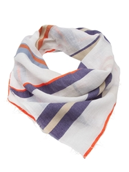 Lemlem Stripe Raw Edge Scarf Multicolour