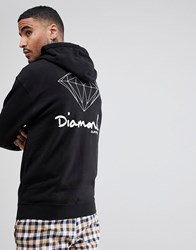 Diamond Supply Co. Hoodie With Back Print Black