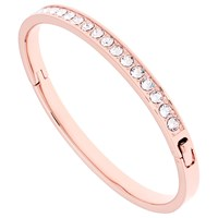 Ted Baker Clemara Swarovski Crystal Bangle Rose Gold Clear