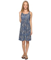 Columbia Freezer Iii Dress Collegiate Navy Tropic Dot Women's Dress Blue