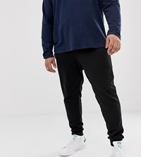 Jack And Jones Plus Size Jogger In Black