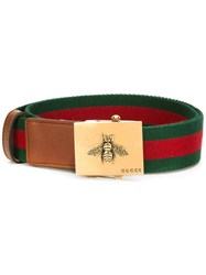Gucci Canvas Web Belt Green