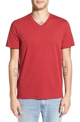 The Rail Men's Slub Cotton V Neck T Shirt