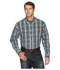 Cinch Long Sleeve Plaid Multicolored Clothing