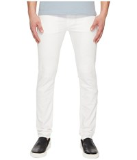 Versace Jeans Distressed Jeans In White White