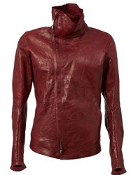 Isaac Sellam Experience High Collar Jacket Red