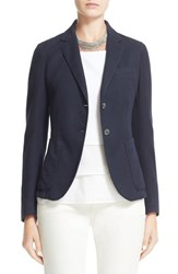 Fabiana Filippi Women's Two Button Pique Blazer