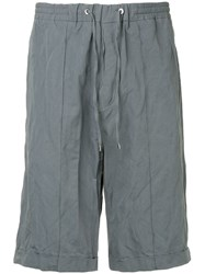 Cnc Costume National Jogging Shorts Grey