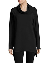 Marc New York Knit Cowlneck Performance Tunic Black