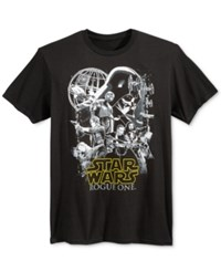 Fifth Sun Men's Star Wars Graphic Print T Shirt Black
