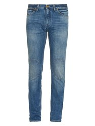 Michael Bastian Washed Skinny Jeans Blue