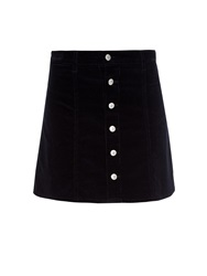 Alexa Chung For Ag The Kety Corduroy A Line Mini Skirt