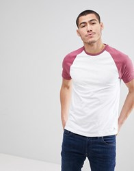 Jack Wills Verwood Raglan T Shirt In Red