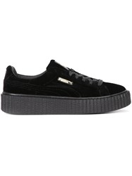 Puma Lace Up Sneakers Black