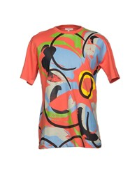 Kit Neale T Shirts Coral