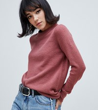 River Island Jumper With Crew Neck In Pink