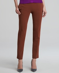 Narciso Rodriguez Cropped Skinny Pants Rust