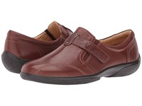 Walking Cradles Art Tobacco Leather Women's Shoes Brown