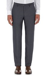 Incotex Men's Twill Marvis Trousers Grey